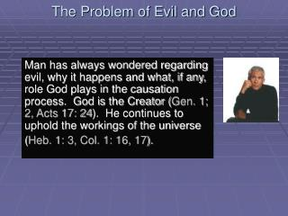 The Problem of Evil and God