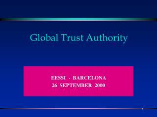 Global Trust Authority