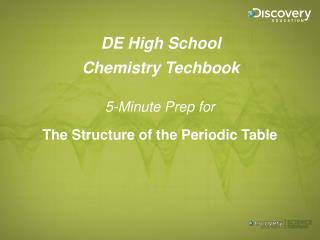 DE High School Chemistry Techbook