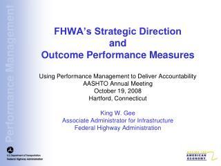 FHWA's Strategic Journey