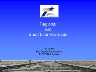 Regional  and  Short Line Railroads