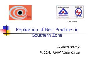 Replication of Best Practices in Southern Zone