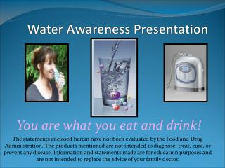 Water Awareness Presentation