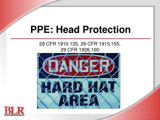 PPE: Head Protection