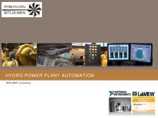 Hydro Power Plant  Automation