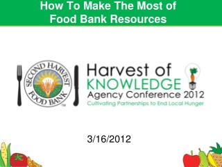 How To Make The Most of  Food Bank Resources