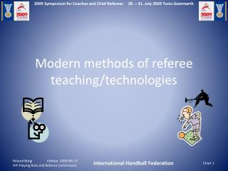 Modern methods of referee teaching/technologies