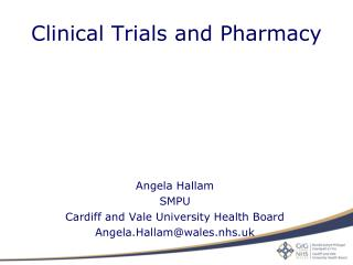 Clinical Trials and Pharmacy