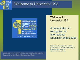 Welcome to University USA