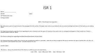 ISR 1