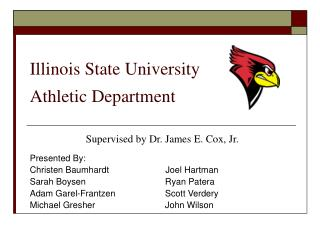 Illinois State University  Athletic Department