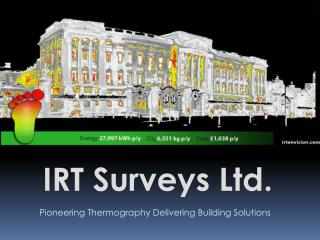 Pioneering Thermography Delivering Building Solutions