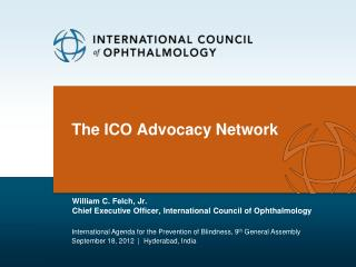 The ICO Advocacy Network