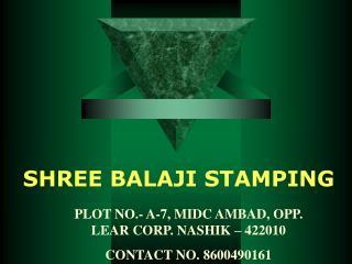 SHREE BALAJI STAMPING
