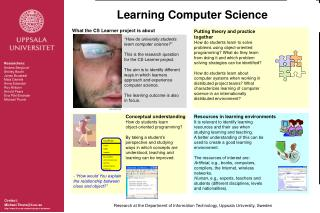 Learning Computer Science