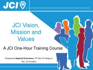 JCI Vision, Mission and Values