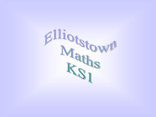 Elliotstown Maths KS1