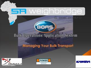 Managing Your Bulk Transport