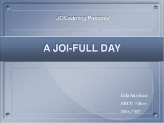 A JOI-FULL DAY