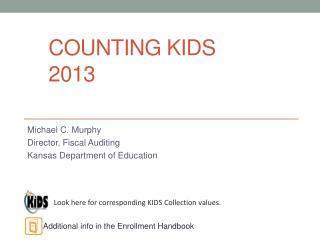 Counting KIDS 2013