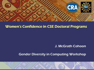 Women's Confidence in CSE Doctoral Programs