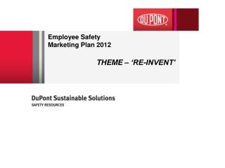 Employee Safety  Marketing  Plan 2012