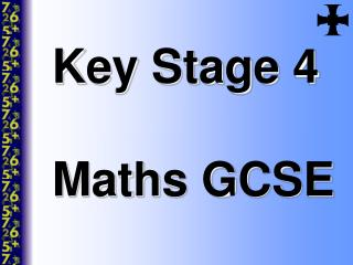 Key Stage 4 Maths GCSE