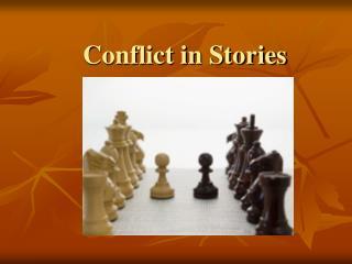 Conflict in Stories