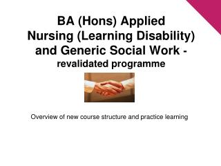 Overview of new course structure and practice learning