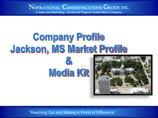 Company Profile Jackson, MS Market Profile & Media Kit