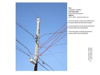 Pole 11405001.0 238604 Pole Ownership Rocky Mountain Power Address