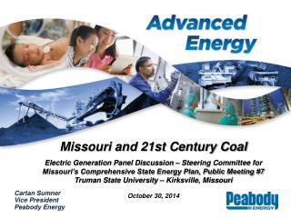 Missouri and 21st Century Coal