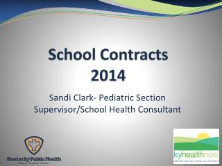 School Contracts 2014