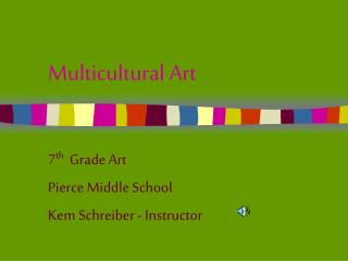 Multicultural Art