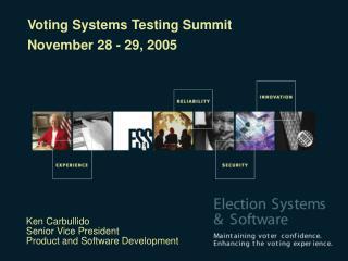 Ken Carbullido Senior Vice President Product and Software Development