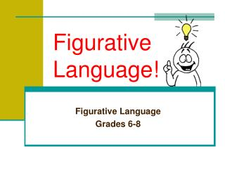 Figurative Language!