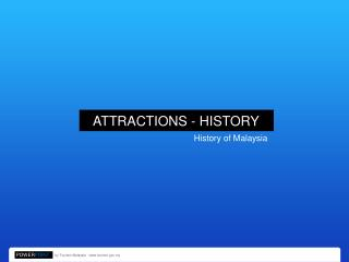 ATTRACTIONS - HISTORY