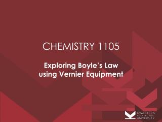 CHEMISTRY 1105