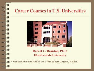 Career Courses in U.S. Universities