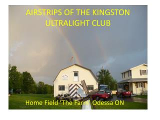 AIRSTRIPS OF THE KINGSTON ULTRALIGHT CLUB