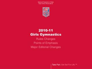 2010-11 Girls Gymnastics Rules Changes
