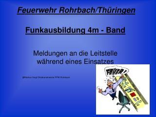 Funkausbildung 4m - Band