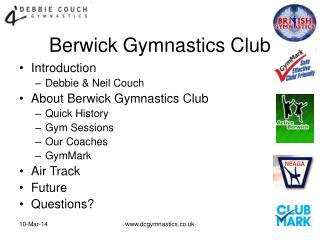 About Berwick Gymnastics Club