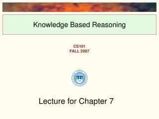 Knowledge Based Reasoning