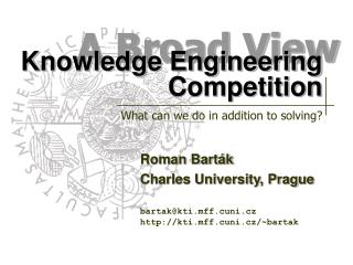 Knowledge Engineering Competition