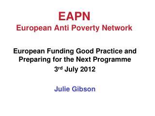 EAPN European Anti Poverty Network