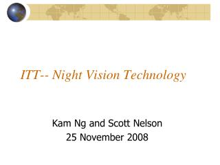 ITT-- Night Vision Technology