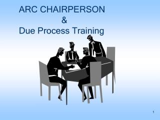ARC CHAIRPERSON                    & Due Process Training