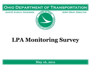 LPA Monitoring Survey