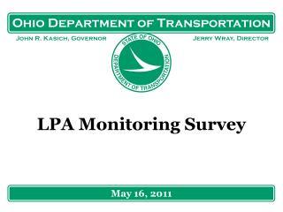 LPA Monitoring Survey
